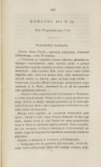 Młoda Polska. Dodatek do No 29 (1840)
