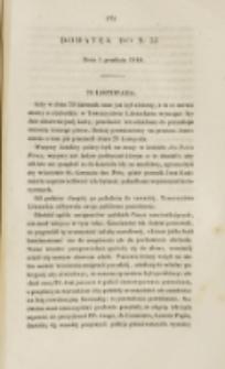 Młoda Polska. Dodatek do No 33 (1840)