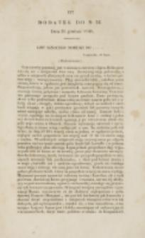 Młoda Polska. Dodatek do No 36 (1840)