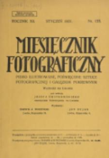 Miesięcznik Fotograficzny. R. 12, nr 133 (1931)