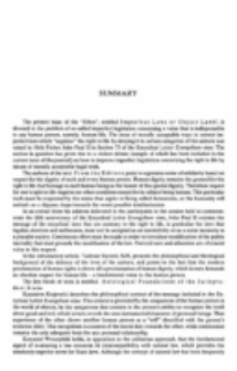 Sumary (Ethos. R. 16, nr 1/2=61/62)