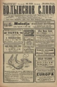 Volynskoe Slovo. G. 6, nr 1006 (1926)