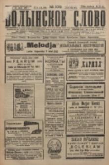 Volynskoe Slovo. G. 6, nr 1019 (1926)