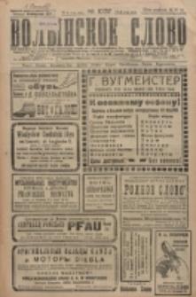 Volynskoe Slovo. G. 6, nr 1037 (1926)