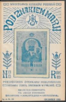 Pod Znakiem Marji. R. 14 , nr 3 = 120 (1933)