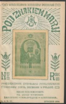 Pod Znakiem Marji. R. 14, nr 4 = 121 (1934)