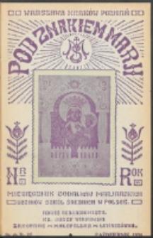 Pod Znakiem Marji. R. 15, nr 1 = 127 (1934)