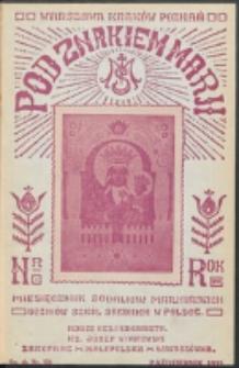 Pod Znakiem Marji. R. 16, nr 1 = 136 (1935)