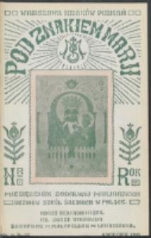 Pod Znakiem Marji. R. 15, nr 7 = 133 (1935)