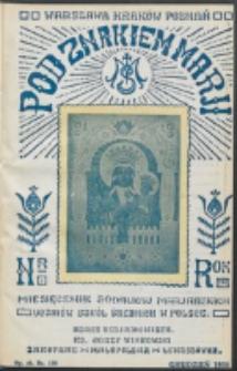 Pod Znakiem Marji. R. 16, nr 3 = 138 (1935)