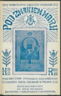 Pod Znakiem Marji. R. 16, nr 8 = 143 (1936)