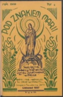 Pod Znakiem Marji. R. 18, nr 2 = 155 (1937)