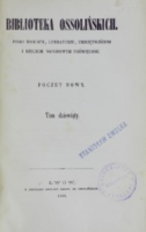 Biblioteka Ossolińskich. T. 9 (1866)