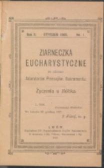 Ziarneczka Eucharystyczne. R. 2, nr 1 (1908)