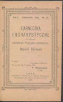 Ziarneczka Eucharystyczne. R. 2, nr 10 (1908)