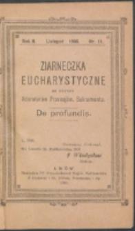 Ziarneczka Eucharystyczne. R. 2, nr 11 (1908)