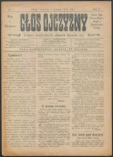 Głos Ojczyzny. R. 1, nr 1 (1918)