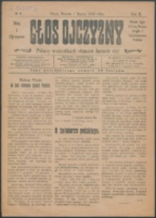 Głos Ojczyzny. R. 2, nr 9 (1919)