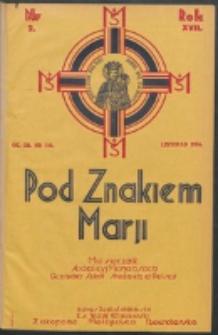 Pod Znakiem Marji. R. 17, nr 2 = 146 (1936)