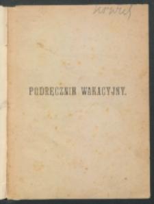Podręcznik wakacyjny dla użytku seminarzystów i młodych kapłanów / L. Bacuez ; z 9-tego wyd. fr. oprac. i przetł. Roman Rembliński.