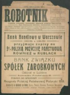 Robotnik. R. 2, nr 50 (1918)