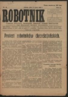 Robotnik. R. 3, nr 18 (1919)