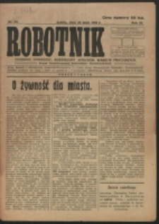 Robotnik. R. 3, nr 20 (1919)