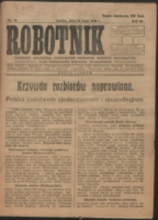Robotnik. R. 3, nr 19 (1919)