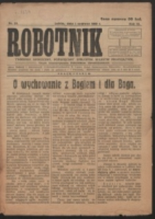 Robotnik. R. 3, nr 21 (1919)