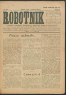 Robotnik. R. 3, nr 22 (1919)
