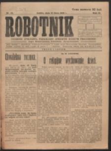 Robotnik. R. 3, nr 27 (1919)