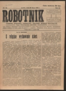 Robotnik. R. 3, nr 28 (1919)