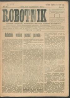 Robotnik. R. 3, nr 37 (1919)