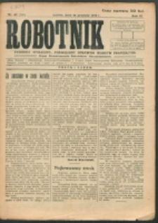 Robotnik. R. 3, nr 47 (1919)