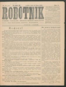Robotnik. R. 4, nr 28 (1920)