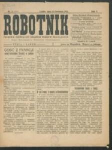 Robotnik. R. 5, nr 6 (1921)