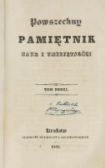 Powszechny Pamiętnik Nauk i Umiejętności. T. 2 (1835)