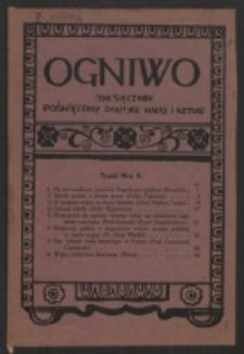 Ogniwo. R. 2, nr 4 (1921)