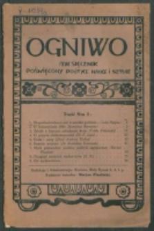 Ogniwo. R. 2, nr 5 (1921)