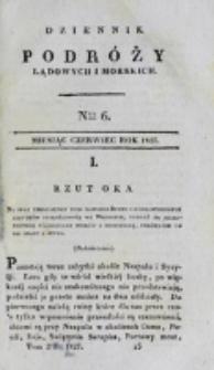Dziennik Podróży Lądowych i Morskich. T. 2, nr 6 (1827)