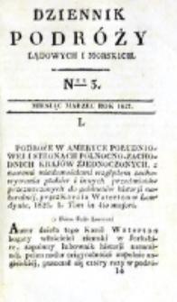 Dziennik Podróży Lądowych i Morskich. T. 1, nr 3 (1827)