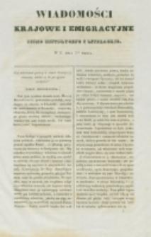 Wiadomości Krajowe i Emigracyjne. No 3 (1837)