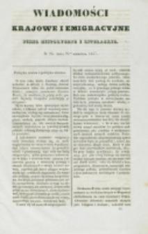 Wiadomości Krajowe i Emigracyjne. No 23 (1837)