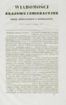 Wiadomości Krajowe i Emigracyjne. No 34 (1837)