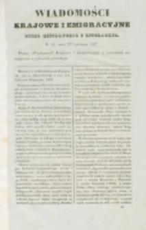 Wiadomości Krajowe i Emigracyjne. No 36 (1837)