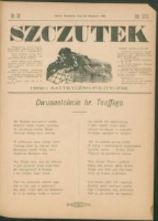 Szczutek : pisemko humorystyczne. R. 23, nr 32 (1891)