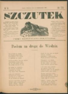 Szczutek : pisemko humorystyczne. R. 23, nr 39 (1891)
