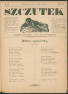 Szczutek : pisemko humorystyczne. R. 23, nr 40 (1891)