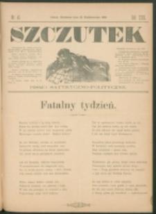 Szczutek : pisemko humorystyczne. R. 23, nr 41 (1891)