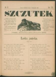 Szczutek : pisemko humorystyczne. R. 23, nr 43 (1891)